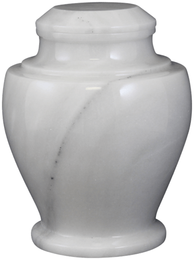 Carpel Antique White Cremation Urn